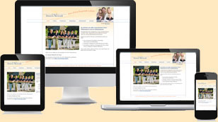 Unsere Website ist Mobil
